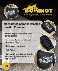Mesures personalitzades COVID-19 Borinot Ros