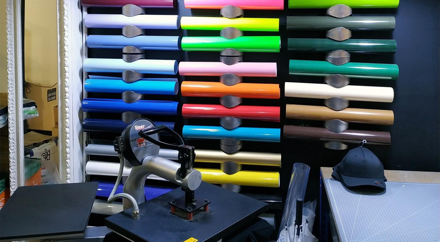 Personalització textil granollers